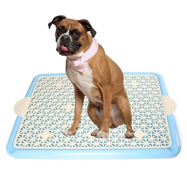 chien toilettes plateau portable animaux accessoires pour chiens pot chat chiot pee plateau. Black Bedroom Furniture Sets. Home Design Ideas