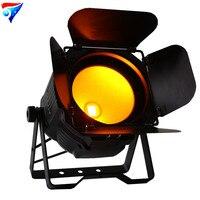 O Envio gratuito de LED 200 w COB Par Pode Com Celeiro interior RGBWA UV 6em1 dmx controle 200 w COB LED Par stage luz|led par stage lights|cob led par|stage light -