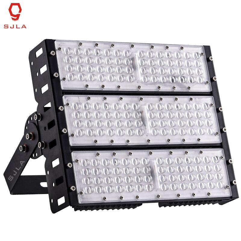 все цены на Professional Lighting Waterproof IP65 Warranty 5 Years 50W 100W 150W 200W AC 85-265V For Square Street Powerful LED Flood Light онлайн