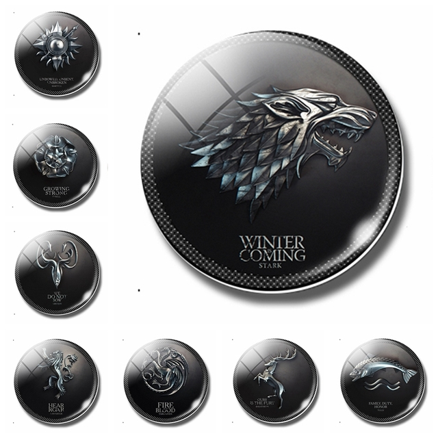 Game Of Thrones Magnetic Sticker