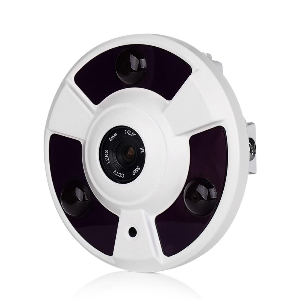 fisheye camera true 360 degree security camera wide angle. Black Bedroom Furniture Sets. Home Design Ideas