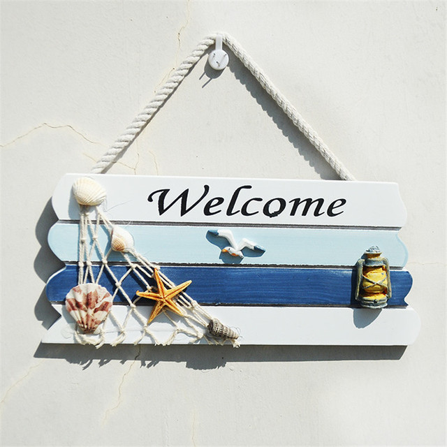 Mediterranean Style Welcome Sign 3