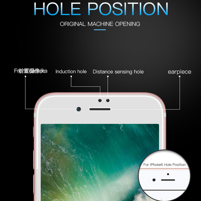 New 9D Curved Sof Edge Full Cover Tempered Glass For iPhone Xr Xs Max 11 Pro Max Screen Protector For iPhone 8 7 6 6s Plus Protection Film