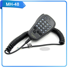 handy talkie speaker DTMF microphone MH-48 walkie talkie accessories for car radio FT-8900 FT-7900  for mibole radio speaker MIC