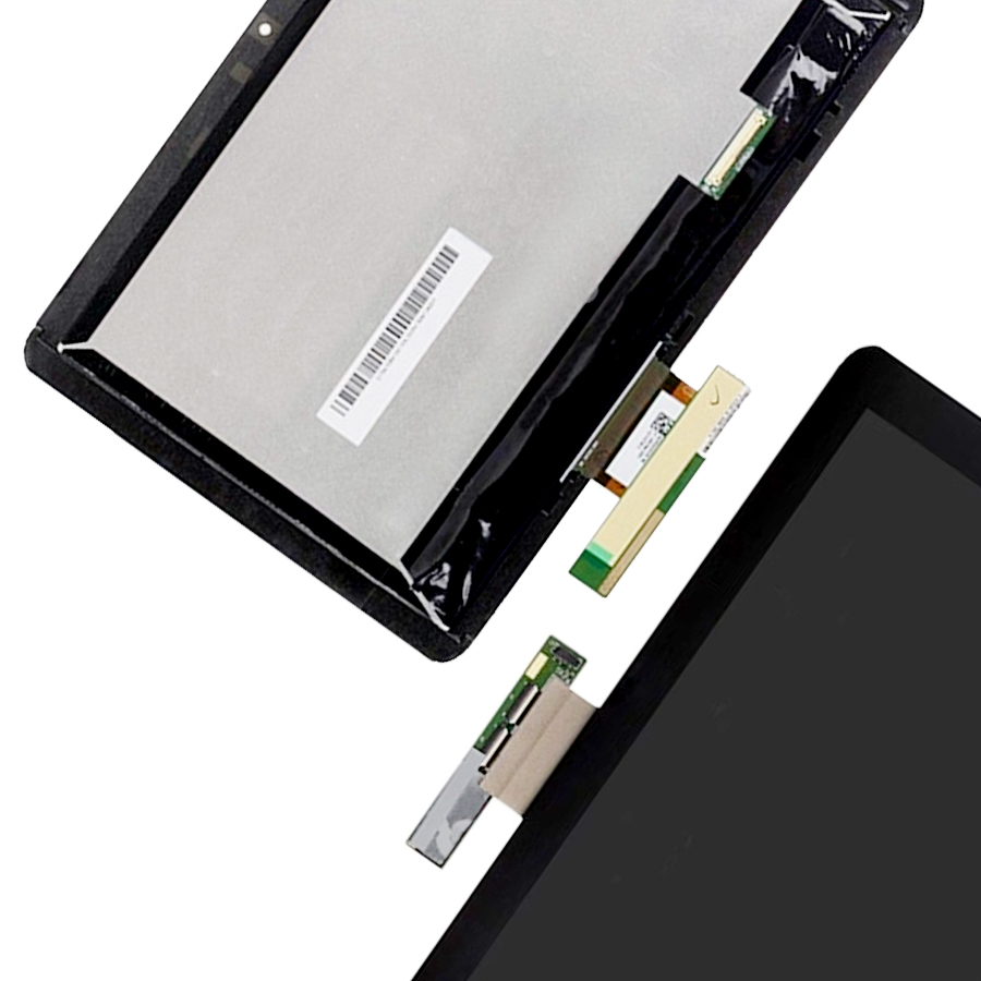 For Acer Iconia A210 A211 Full Digitizer Touch Screen Glass Sensor + LCD Display Panel Screen Monitor Assembly kodaraeeo lcd display screen panel with touch screen digitizer sensor glass assembly for acer iconia tab 8 b1 810 with frame
