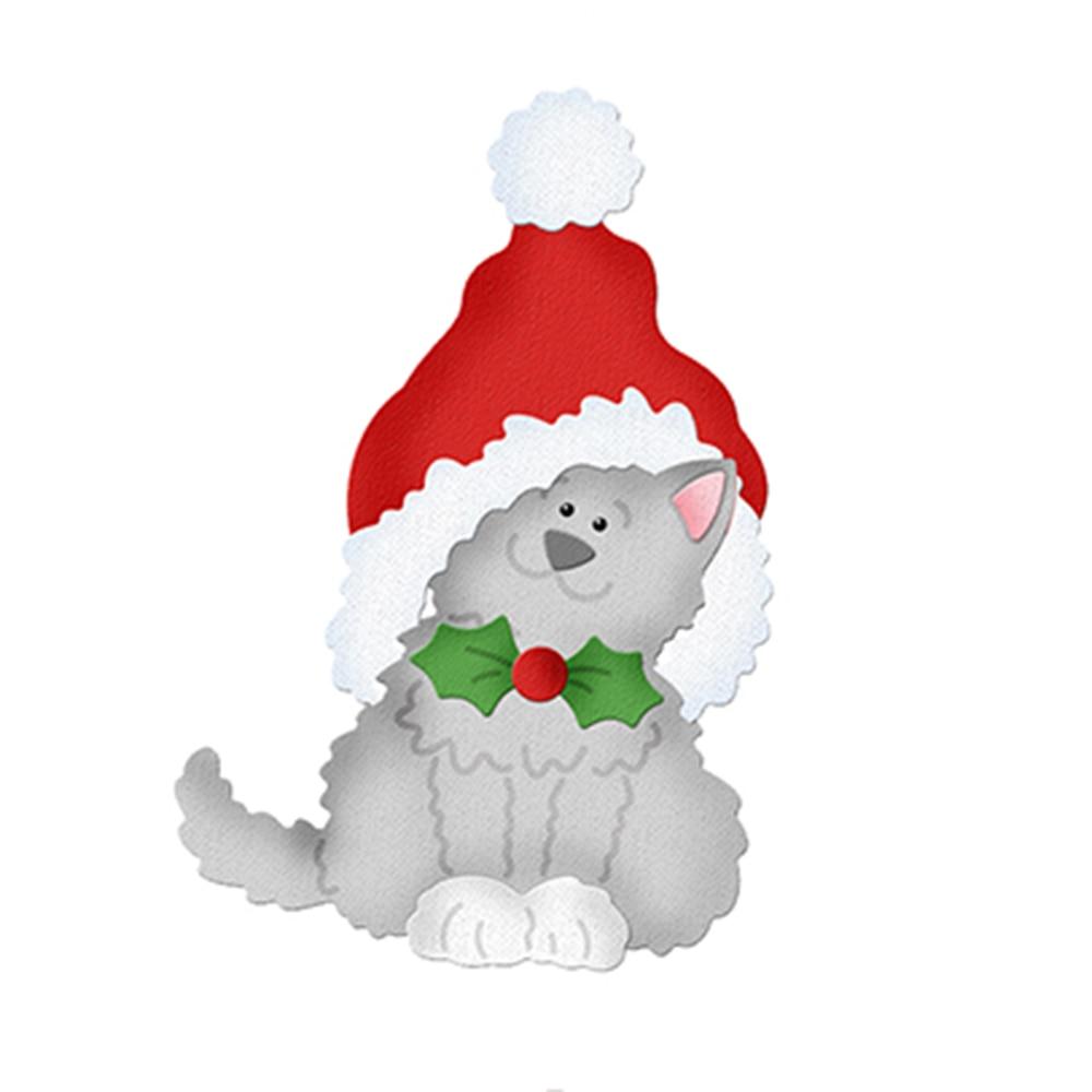 Home & Garden 119*77mm Bear Animal Christmas Dies Metal Cutting Dies New 2018 Scrapbooking Dies Metal Die Cuts Background For Gift