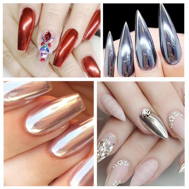 Chrome Nails Powder