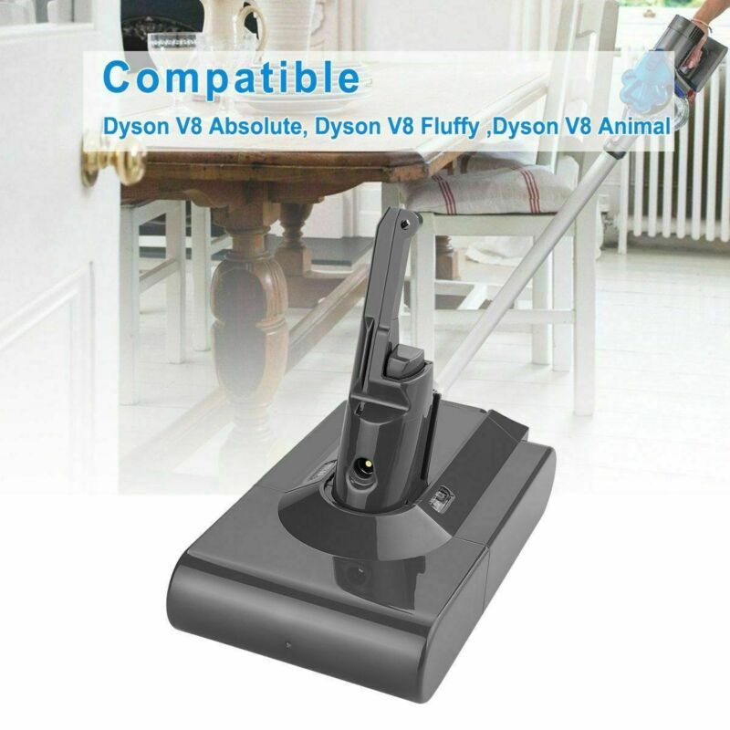 Replacement 3500mAh Li-ion Battery For Dyson V8 Absolute Handheld Vacuum Cleaner
