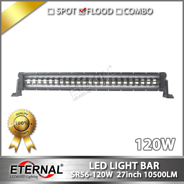 free shipping 4pcs 120W led light bar super bright high efficiency wholesale led bar light for 4x4 offroad truck emergency truck
