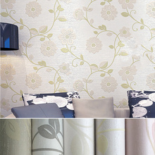10 Meter Three-dimensional Non-woven Wallpaper 3D Romantic Pastoral Warm Bedroom Living Room Bedside TV Background Wallpaper wallpaper eco friendly non woven 3d three dimensional sculpture fashion wallpaper tv background wall wallpaper