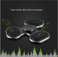 LED Flash Bluetooth Soundbox Tri Spinner Time Long Fidget Funny Toys Fidget Spinner Speed Stress Autism
