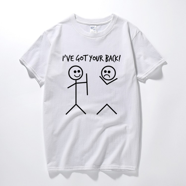 6ee5d3d10f 2018 Summer Gift For Men Best Friend T Shirts Funny Pattern I Have ...