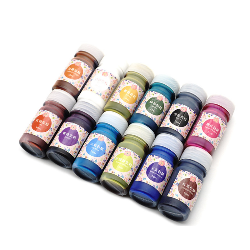 10 мл высокая концентрация УФ смолы жидкости окраска пигмента красителя смола для DIY аксессуар для изготовления ювелирных изделий KQS8