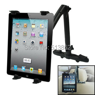 Universal Rotation Car Mount Bracket Back Car Seat Holder for New iPad (iPad 3)  iPad 2  iPad  Galaxy Tab  7-10 inch Tablet PC from factory new 12cm nvidia tesla k40c k40m k40 active passive mount bracket