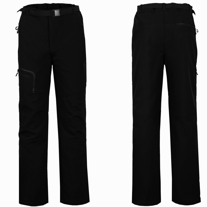Windproof Trekking Hiking Pants Softshell Winter Ski Pant Outdoor Camping Pant Sport Trousers For Fishing Mountain