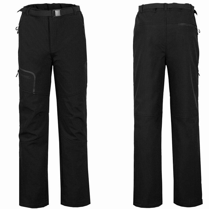 Pantalon de randonnée randonnée coupe-vent pantalon de Ski d'hiver Softshell pantalon de Camping en plein air pantalon de Sport pour la pêche escalade en montagne