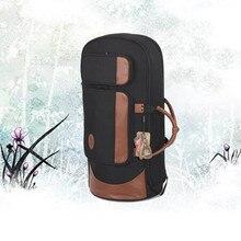 Professional portable shock waterproof standing key bond horn bag euphonium case three flat key horn soft gig backpack shoulder