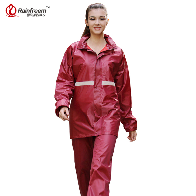 Aliexpress.com : Buy Rainfreem Men/Women Raincoat Suits ...
