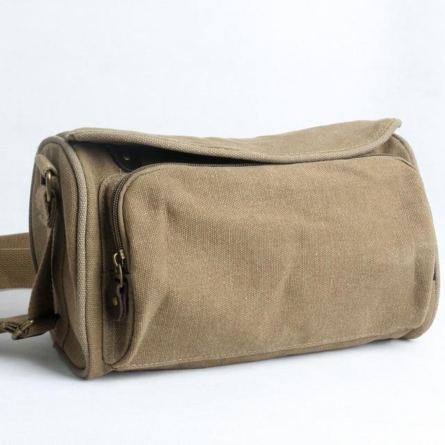 canvas man bag 2017 women's handbag messenger bag small vintage bag
