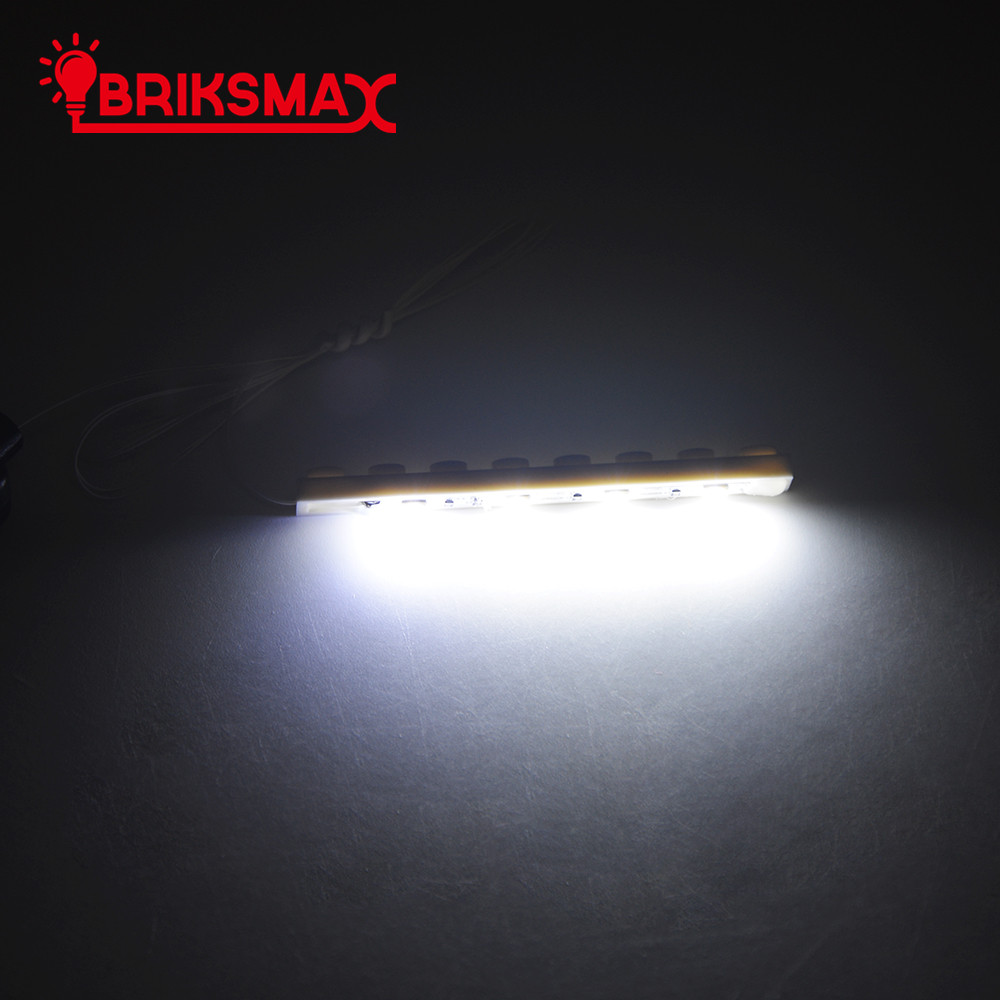 BRIKSMAX 1 * 4 LED Light Up Kit Dengan Kotak Kuasa Untuk Set Bricks Model Blok Bangunan DIY Mainan Kit