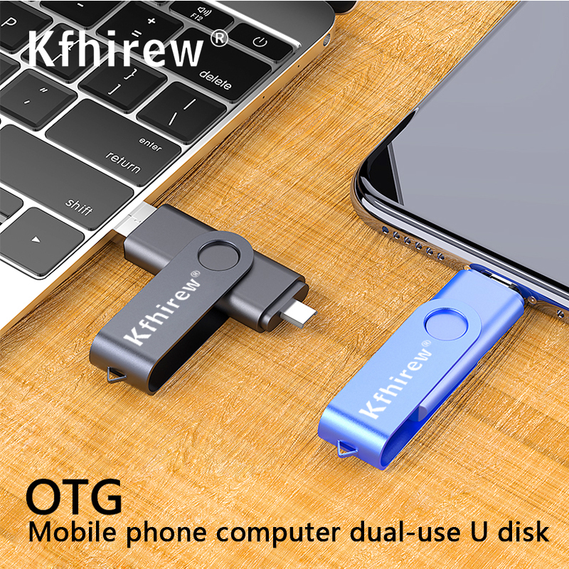 Colorful OTG USB Flash Drive 16GB 64GB Cle USB Stick 32gb Pendrive 8gb 4gb Pen Drive USB 2.0 Memory Stick 6 Colors