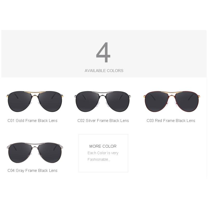 MERRY S Homens Alumínio EMI Defendendo Revestimento de Lente Polarizada  Óculos de Sol Clássicos óculos de Sol Da Marca Condução Tons S 8712 em  Óculos de sol ... e5b95e79bd