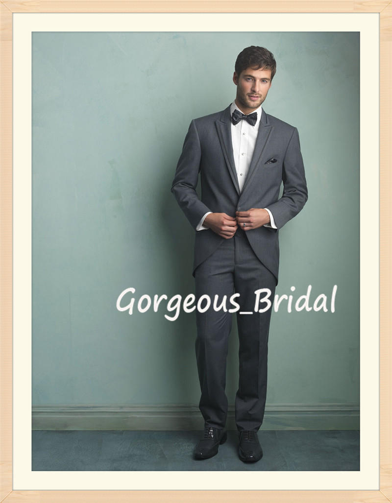 New Arrival Fashionable Men Tuxedo Suit Wedding Custom One Button ...