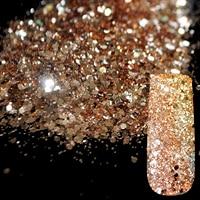 500g/bag Nail Art Glitter Powder Gold Glitter Mixed Hexagonal Sequins Dazzling Nail Glitter Powder DIY Nails Decoration Tool 273