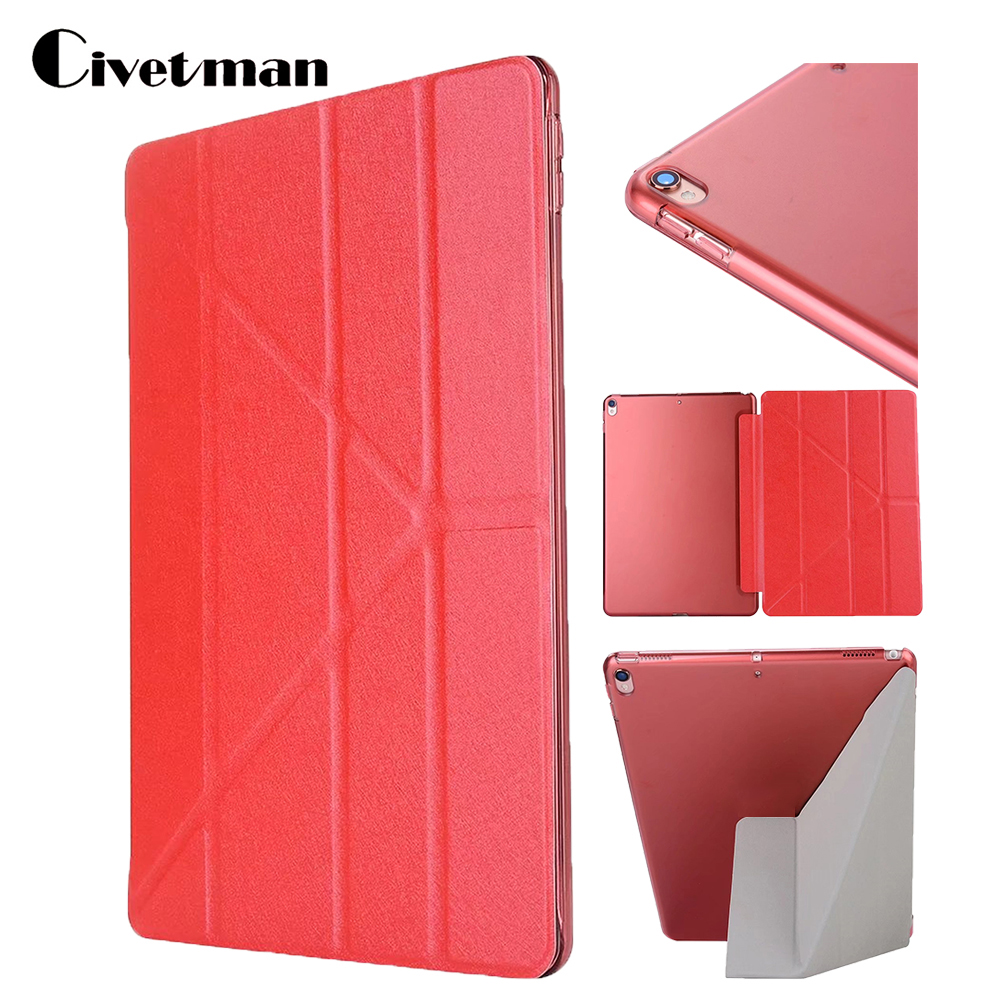 Fashion Case For iPad Pro 10.5 Magnetic Smart Flip Leather Cover For 2017 iPad Pro Auto Sleep Flip Stand Protective Cover Case