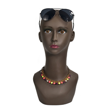 Female Mannequin Head Model Manikin Wig Scarf Glasses Hat Cap Display Stand