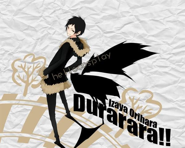 Durarara!! Cosplay Izaya Orihara Cosplay Costume (Coat) H008
