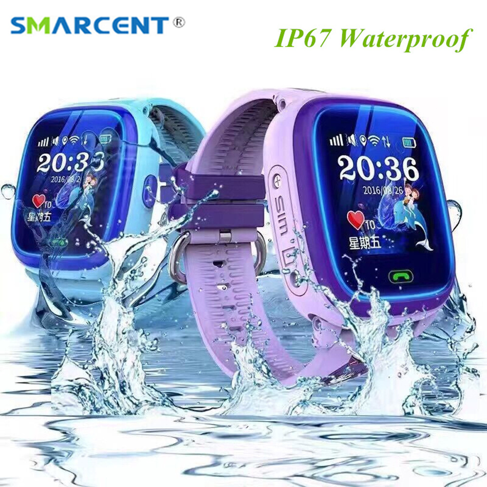 SMARCENT DF25 Smart Watch GPS Location SOS Call Smartwatch for Child Kids Safe Device Tracker Anti-Lost pk Q50 Q90 Smart Watch wireless service call bell system popular in restaurant ce passed 433 92mhz full equipment watch pager 1 watch 7 call button
