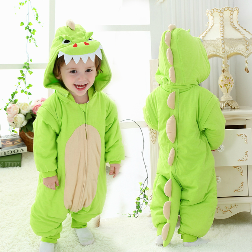 Lovely Cartoon Children Baby Sleeping Bag Cotton Thicken Infant Sleep Sack Cute Warm Baby Wrap Sleep Bag Swaddle Home Cloths C01 ...
