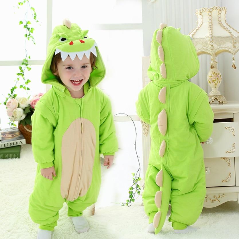 все цены на Lovely Cartoon Children Baby Sleeping Bag Cotton Thicken Infant Sleep Sack Cute Warm Baby Wrap Sleep Bag Swaddle Home Cloths C01
