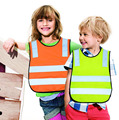 Safety Vest Kids Reflective Safety Vest Student children Safety Vest high visibility warning Reflective Work Clothing 42*47cm