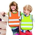 Safety Vest Kids Reflective Safety Vest Student children Safety Vest high visibility warning Reflective Work Clothing 42*47cm