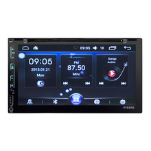 HEVXM 6303  Android system 6.95 inch Touch Screen Vehicle GPS Units Equipment GPS/TF/BT Handsfree VehicleDVD/MP4 Players
