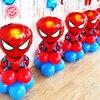1 Set Kids Balloons Birthday Party Decoration Ideas Avengers Balloons Super Hero Captain America Superman Falcon
