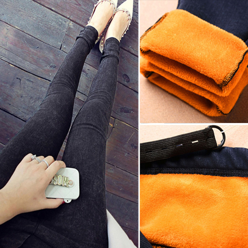 M-2XL Thicken Maternity Jeans For Pregnant Women Pregnant Pants Pregnancy Clothes Winter Maternity Pant Plus Size