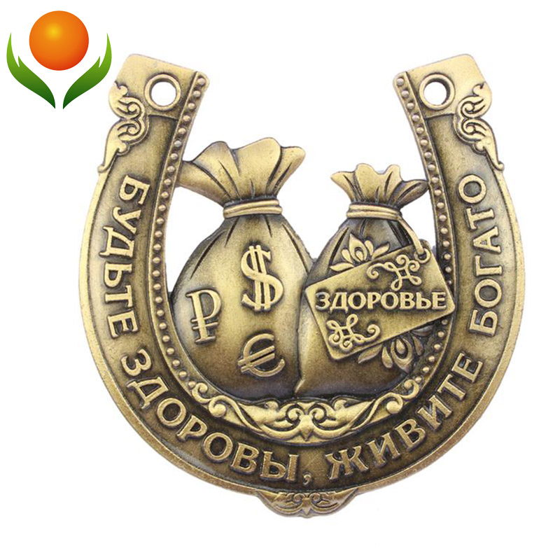 Ultima moda argento Russo collezionismo ferri di cavallo, bella festosa e rifornimenti party, formato 7*7, souvenir di ricchezza e salute