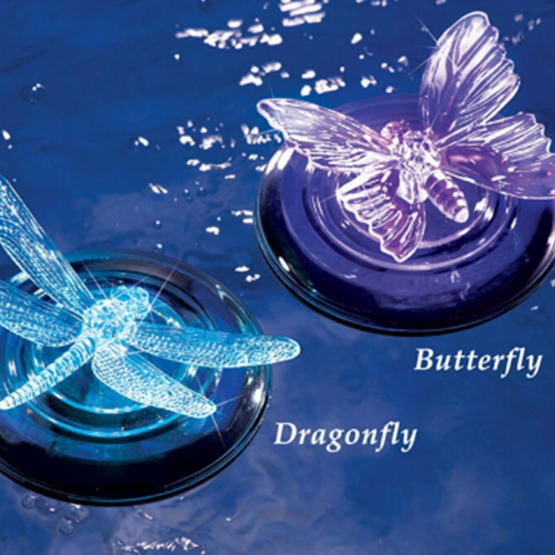 Lights & Lighting Glorious Color-changing Led Garden Solar Light Waterproof Dragonfly/butterfly Solar Led Path Lawn Lamp For Outdoor Garden Decoration Finely Processed