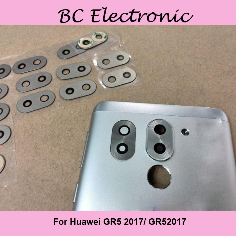 For Huawei GR5 <font><b>2017</b></font>/ GR52017 Back Camera Glass lens parts replacment for Huawei <font><b>GR</b></font> <font><b>5</b></font> <font><b>2017</b></font> image