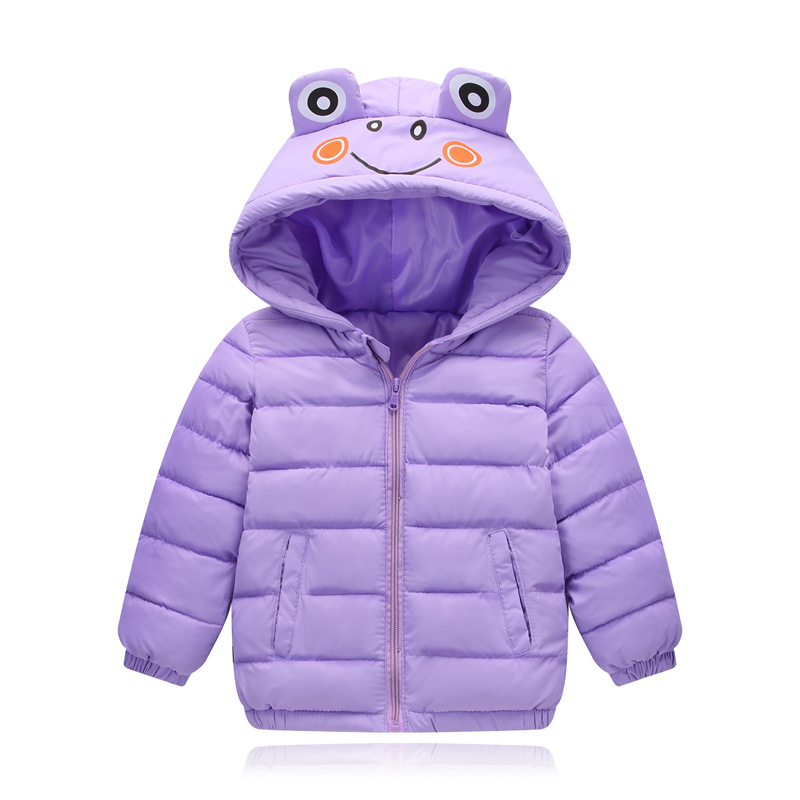 2018 Winter New Warm Boys Girls Thin Down Cotton Coat Baby Kids Spring Autumn Down Jacket Children Outwear Clothes 2017 spring autumn winter warm children clothes baby girls boys kids ultra light down jacket 90% duck down coat 1 6y new