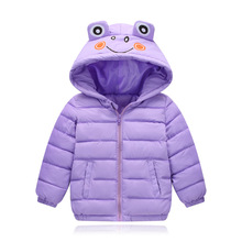 цена на VTOM  Winter New Warm Boys Girls Thin Down Cotton Coat Baby Kids Spring Autumn Down Jacket Children  Outwear Clothes
