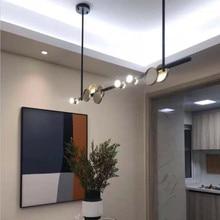 New Restaurant Led Pendant Lights Art Design Bar Coffee Shop Hanging Lamp Nordic Suspension Loft Foyer Light Fixtures