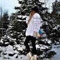 """Mulheres """"s Outono Inverno Longos casacos De Peles reais 100% Finland pele de Raposa casaco De Pele 75 cm Lindo Natural casacos De Pele outerwear"""