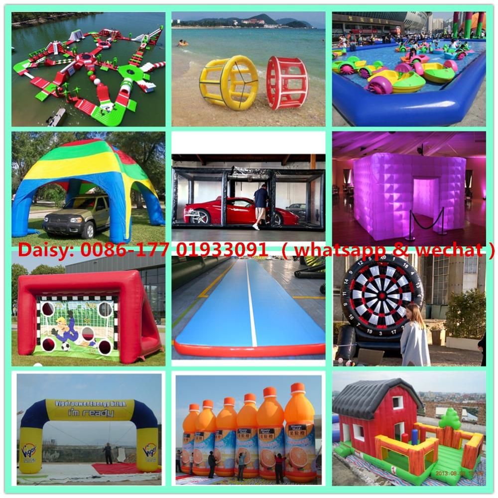 Trampolín Inflatable parque de 23