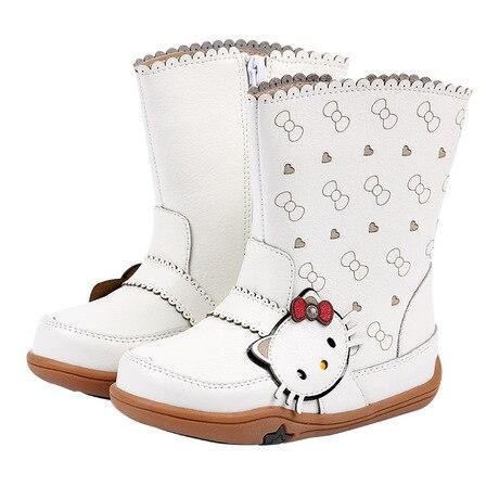8b8c693b0243b Kids Shoes Kids boots leather boots for girls chaussures fille hiver girl  shoes autumn winter laarzen meisjes boots enfant sale