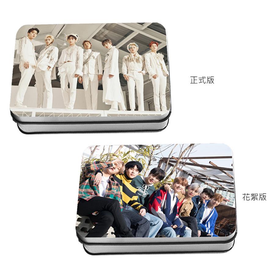 Kpop Monsta X TAKE.2 WE ARE HERE Polaroid Lomo Photo Card 2nd Album HD Collective Photocard 40pcs