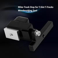 DWZ Durable In Use Miter Track Stop For T Slot T Track Woodworking DIY Tool Manual